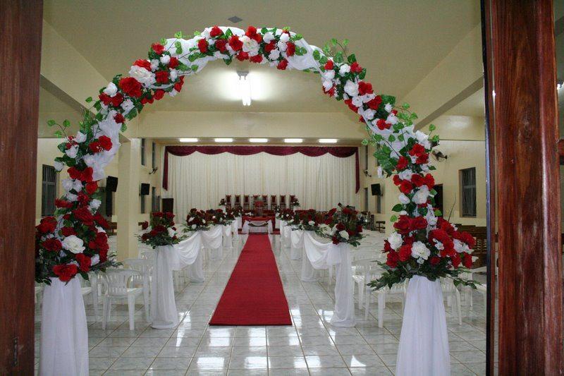 Decoraç u00e3o para Igrejas Evangélicas Dicas de Decoraç u00e3o de Casamento -> Decoração Simples Para Festividade De Igreja Evangelica